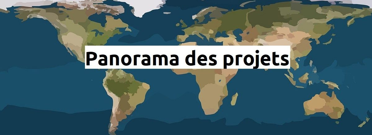 Panorama des projets