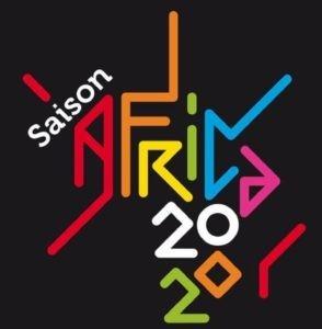 Affiche de la Saison Africa 2020. un des événements internationaux en France du 1er juin à mi-décembre 2020.