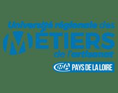 Logo Université régionale des métiers de l'artisanat Pays de la Loire
